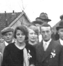 Marinus Veldhuizen(rechts), 1903-1969.