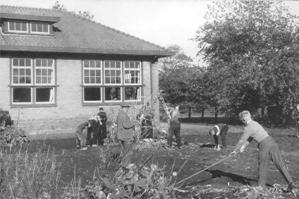 Landbouwschool in de Proeftuin