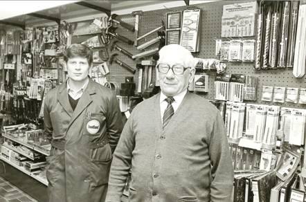Piet en Rein van Elst, 1984