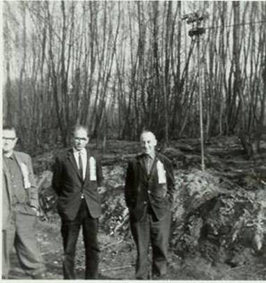 V.l.n.r.: Teun Valkenburg, Jan Methorst, Wim van de berg