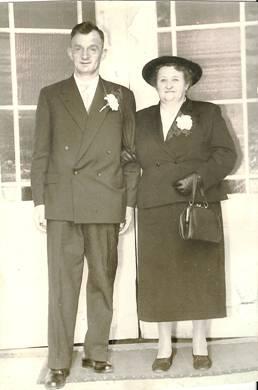 Cees en Jannetje Wesselink, eind jaren vijftig