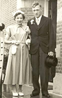Geert en Ria Wesselink, 1955