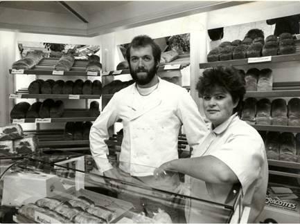 Jan Willem en Gerda van Engelenhoven, 1988.