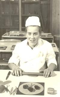 Bas op de bakkersopleiding, 1961.