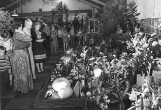 Floralia in de Eierhal in 1977.