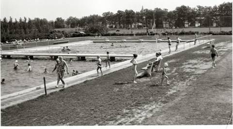 Zwembad 't Willaer 1962.